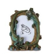 Novelty Double Iguana Photo Frame